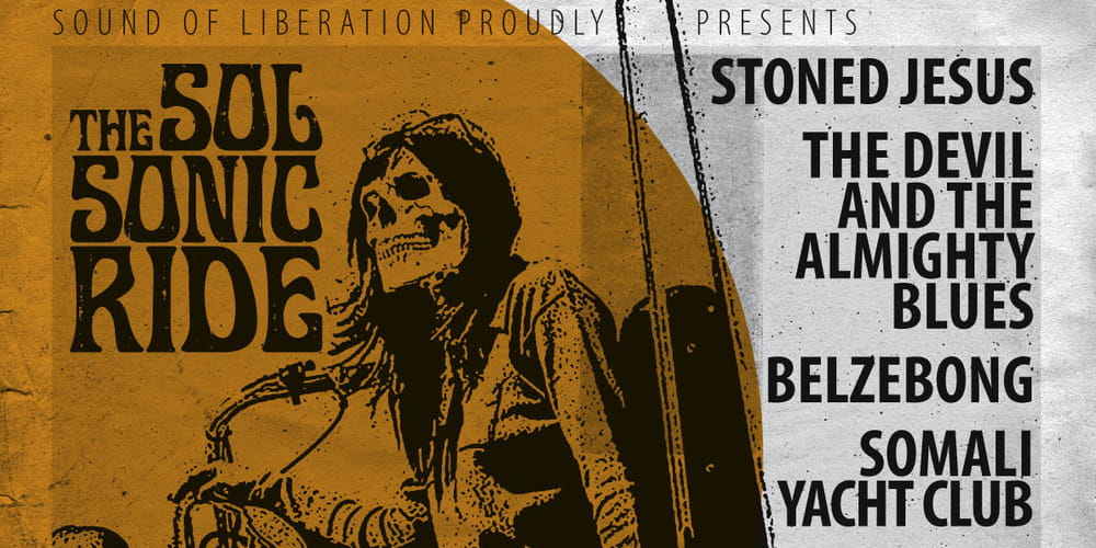 Tickets Stoned Jesus / The Devil and The almighty Blues, + Belzebong und Somali Yacht Club in Stuttgart