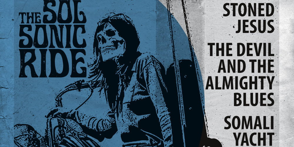 Tickets Stoned Jesus / The Devil and The almighty Blues, +Somali Yacht Club in München