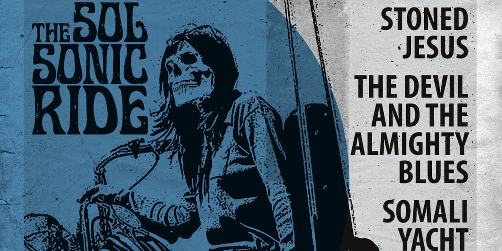 Tickets Stoned Jesus / The Devil and The almighty Blues, +Somali Yacht Club in Leipzig
