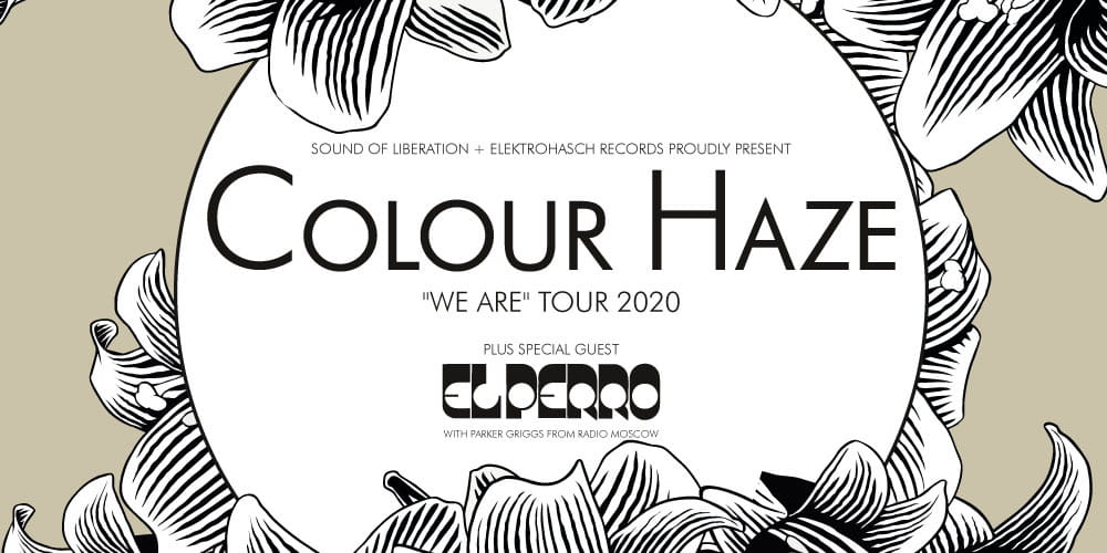 Tickets Colour Haze (Ausweichtermin), We Are Tour 2020 in Hamburg