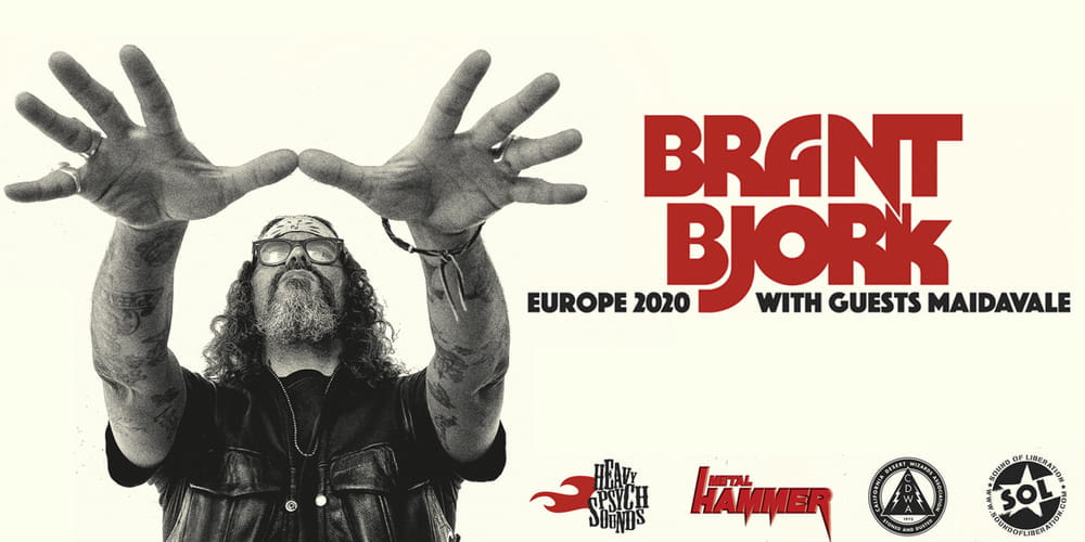Tickets Brant Bjork + special guest: MaidaVale, European Tour 2020 in Erlangen